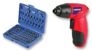 DURATOOL - D01601 - 无绳电钻/螺丝刀套件 100件