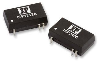 XP POWER - ISP1212 - 直流/直流转换器 SMD 2W +/-12V