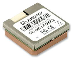 LEADTEK - LR9552LP-RS232 - 模块 GPS 带天线 LR9552LP-RS232