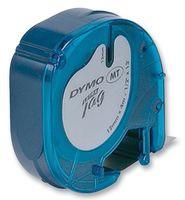 DYMO - S0721510 - 标签打印带 纸质 白色 12mmX4m