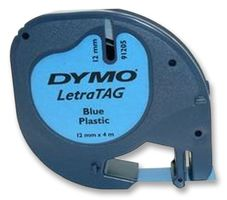 DYMO - S0721650 - 标签打印带 塑料 蓝色 12mmX4m
