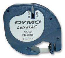 DYMO - S0721730 - 标签打印带 金属化 银色 12mmX4m