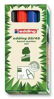 EDDING - 28/4S - 标记笔 4色套装