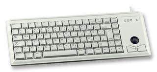 CHERRY - G84-4400LUBGB-0 - 键盘 白色 带追踪球 USB
